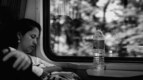 trainsleeping