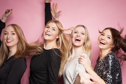 楽しそうな女性達