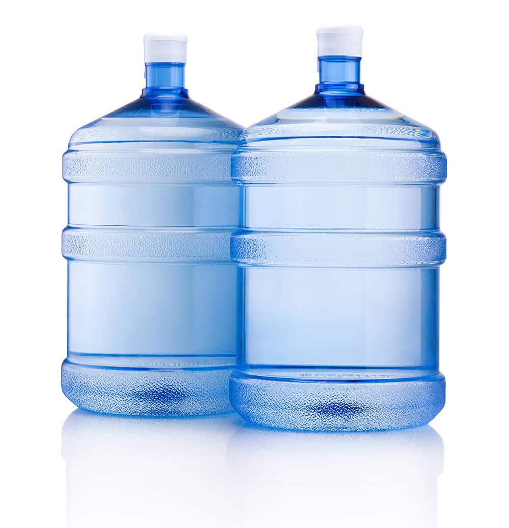 交換用の水